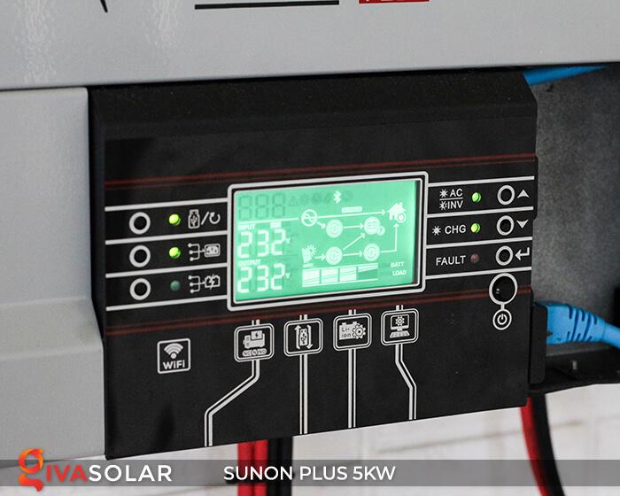 Inverter bám tải SUNON PLUS 5KW/48V 4