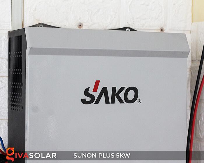 Inverter bám tải SUNON PLUS 5KW/48V 6