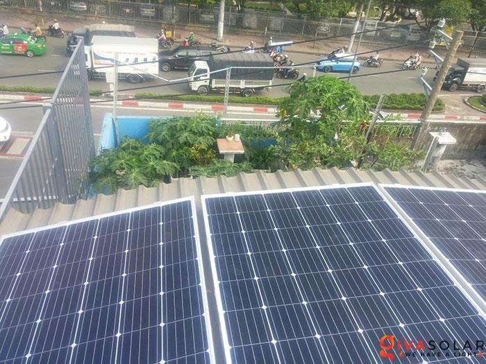 Lắp đặt hoàn thành hệ thống hòa lưới 3KW tại Tân Phú 2