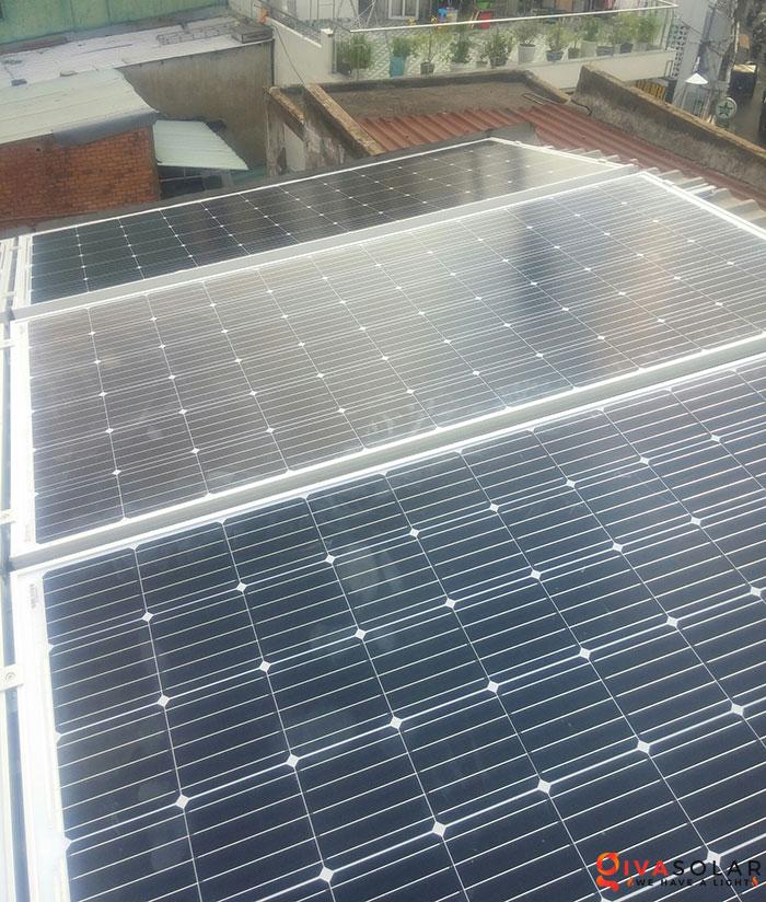 Lắp đặt hoàn thành hệ thống hòa lưới 3KW tại Tân Phú 3