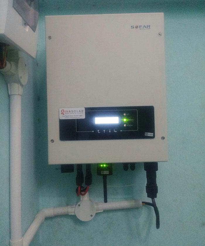 Lắp đặt hoàn thành hệ thống hòa lưới 3KW tại Tân Phú 6