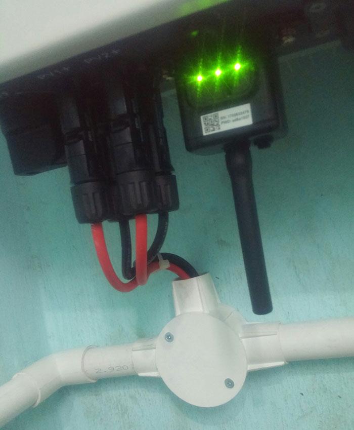 Lắp đặt hoàn thành hệ thống hòa lưới 3KW tại Tân Phú 8