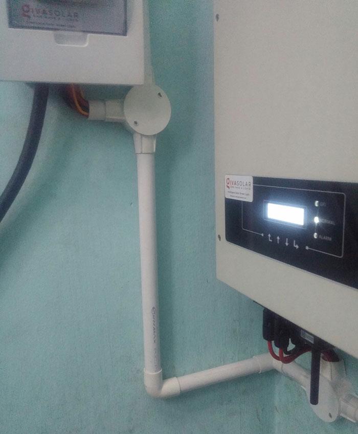 Lắp đặt hoàn thành hệ thống hòa lưới 3KW tại Tân Phú 9