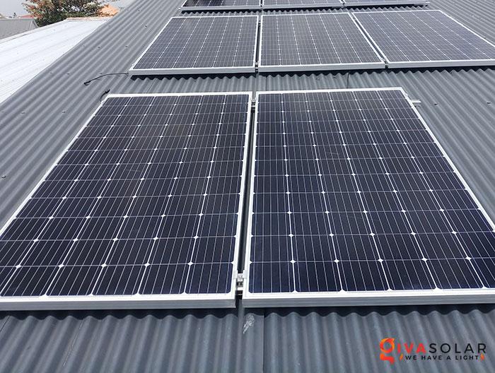 Lắp đặt hệ thống điện mặt trời 4KW mái tôn tại Cần Thơ 4