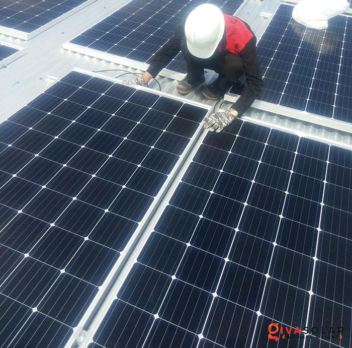 Lắp đặt hệ thống điện mặt trời hòa lưới 5KW tại Kiên Giang 10