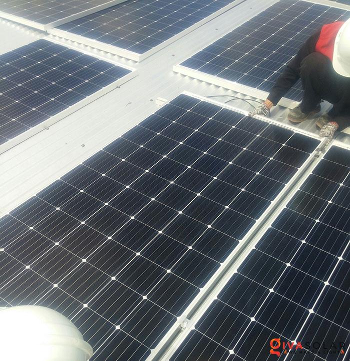 Lắp đặt hệ thống điện mặt trời hòa lưới 5KW tại Kiên Giang 11