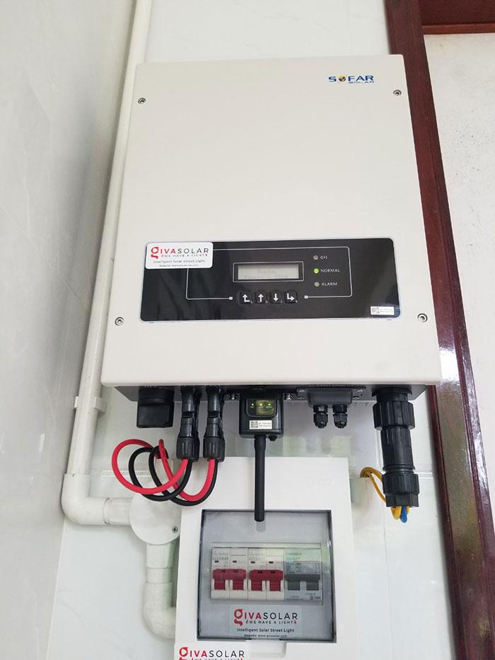 Lắp đặt hệ thống điện mặt trời hòa lưới 5KW tại Kiên Giang 12