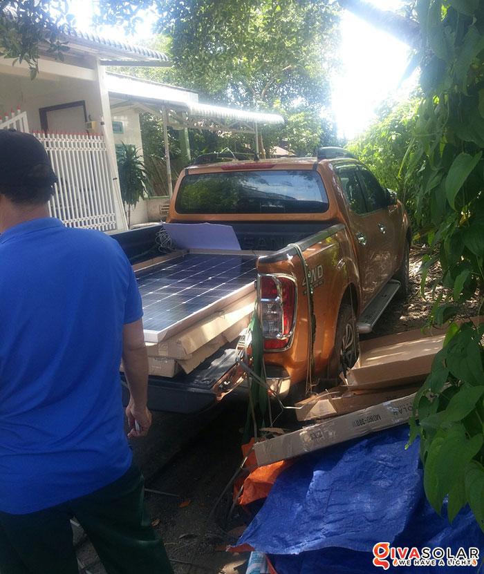 Lắp đặt hệ thống điện mặt trời hòa lưới 5KW tại Kiên Giang 2