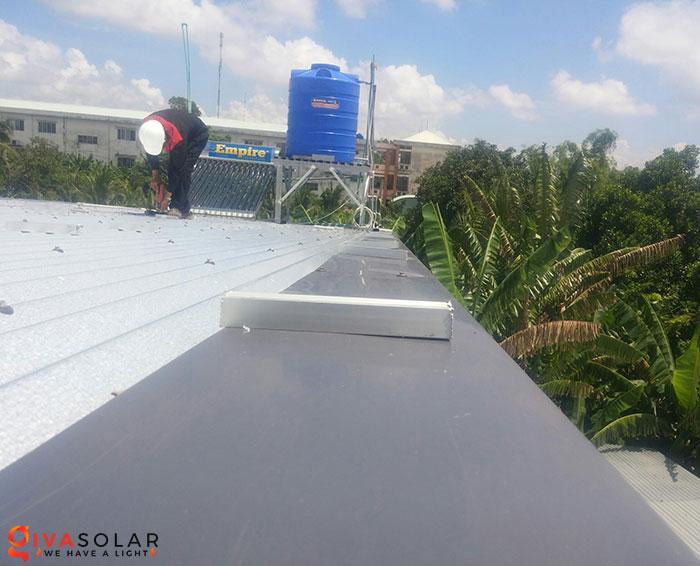 Lắp đặt hệ thống điện mặt trời hòa lưới 5KW tại Kiên Giang 4