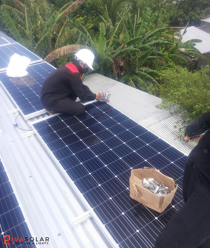 Lắp đặt hệ thống điện mặt trời hòa lưới 5KW tại Kiên Giang 7