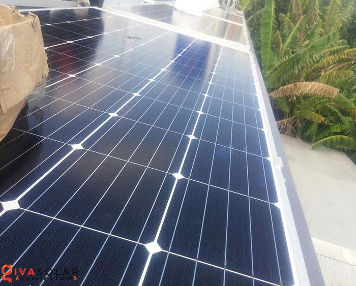 Lắp đặt hệ thống điện mặt trời hòa lưới 5KW tại Kiên Giang 8