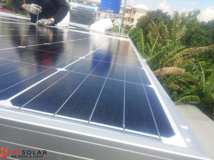 Lắp đặt hệ thống điện mặt trời hòa lưới 5KW tại Kiên Giang 9