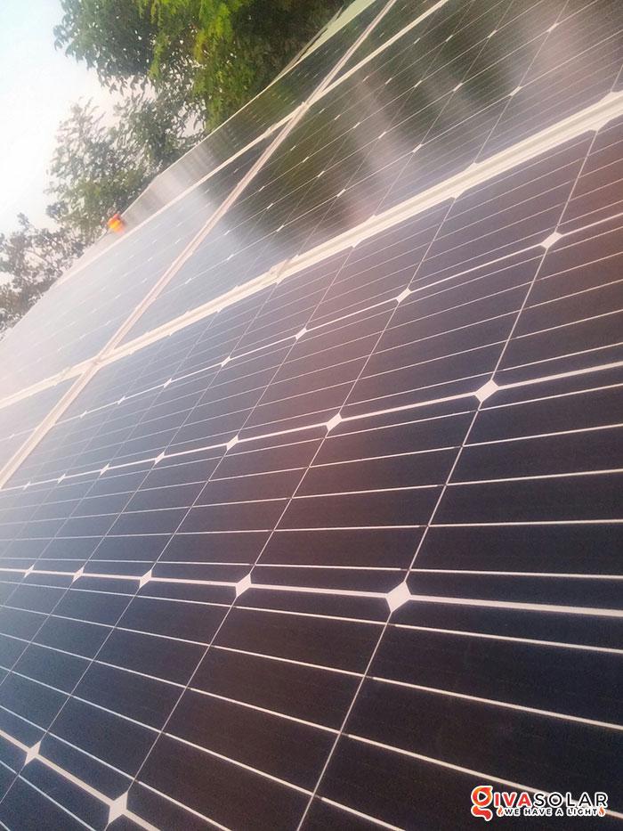 Lắp đặt hệ thống năng lượng mặt trời độc lập 5KW ở Bình Phước 11