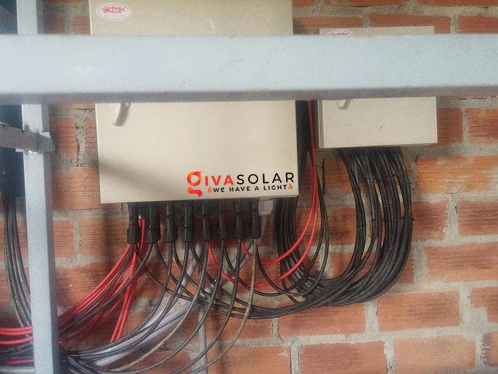 Lắp đặt hệ thống năng lượng mặt trời độc lập 5KW ở Bình Phước 15