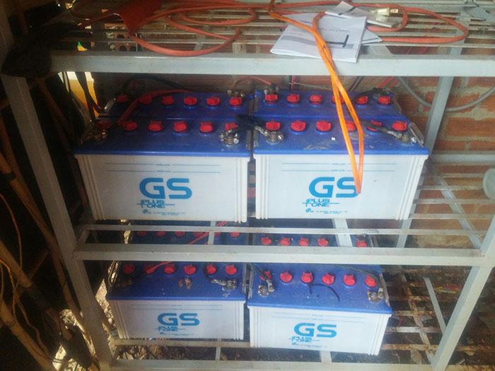 Lắp đặt hệ thống năng lượng mặt trời độc lập 5KW ở Bình Phước 17