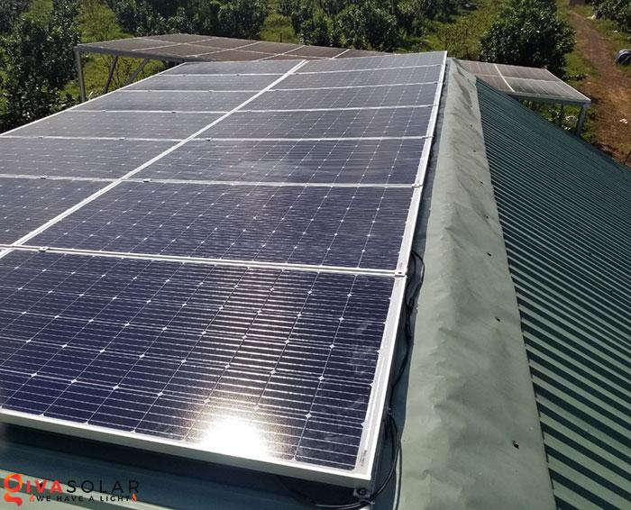 Lắp đặt hệ thống năng lượng mặt trời độc lập 5KW ở Bình Phước 3