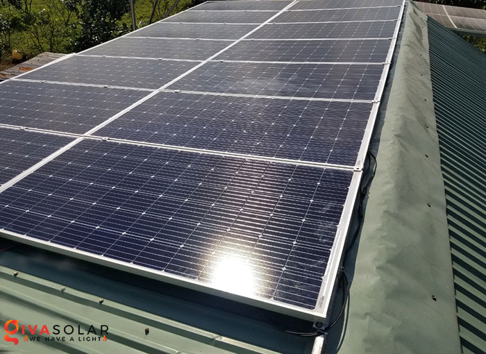 Lắp đặt hệ thống năng lượng mặt trời độc lập 5KW ở Bình Phước 6