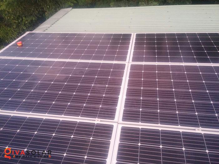 Lắp đặt hệ thống năng lượng mặt trời độc lập 5KW ở Bình Phước 8