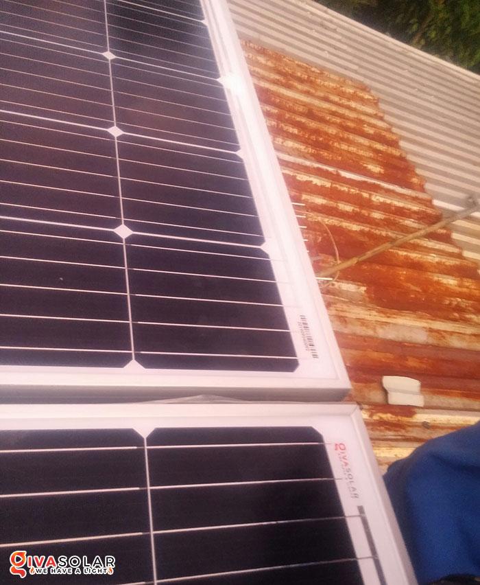 Lắp đặt hệ thống năng lượng mặt trời độc lập 5KW ở Bình Phước 9