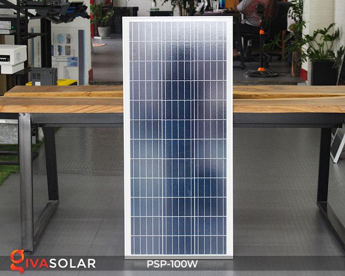 pin năng lượng mặt trời Polycrystalline 100W 1
