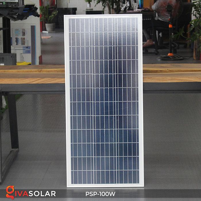 pin năng lượng mặt trời Polycrystalline 100W 2