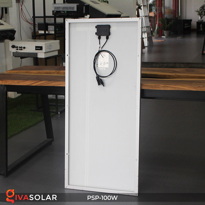 pin năng lượng mặt trời Polycrystalline 100W 3