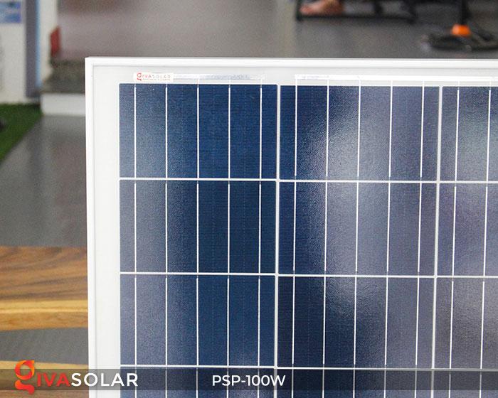 pin năng lượng mặt trời Polycrystalline 100W 4
