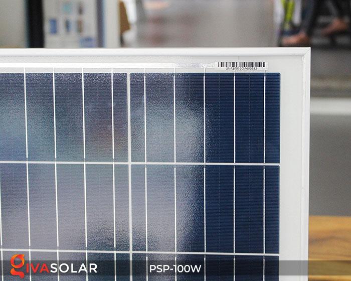 pin năng lượng mặt trời Polycrystalline 100W 5