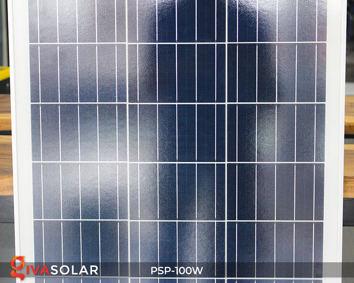 pin năng lượng mặt trời Polycrystalline 100W 6