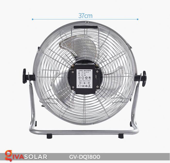 Quạt chạy bằng năng lượng mặt trời GV-DQ1800 16
