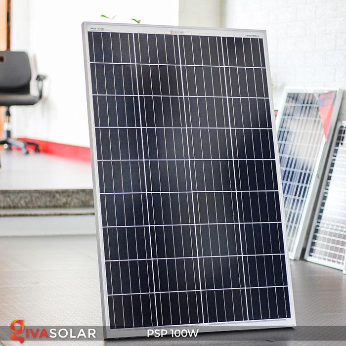 Tấm pin năng lượng mặt trời Poly 100W 2