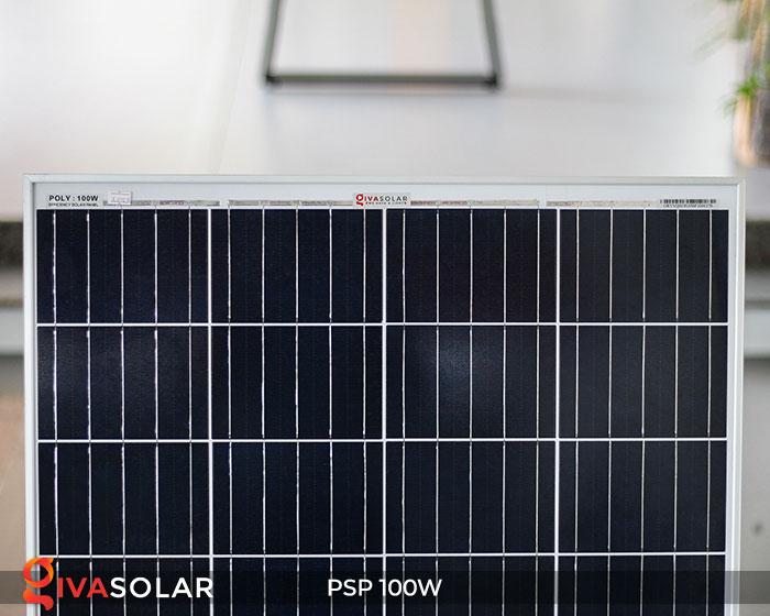 Tấm pin năng lượng mặt trời Poly 100W 3