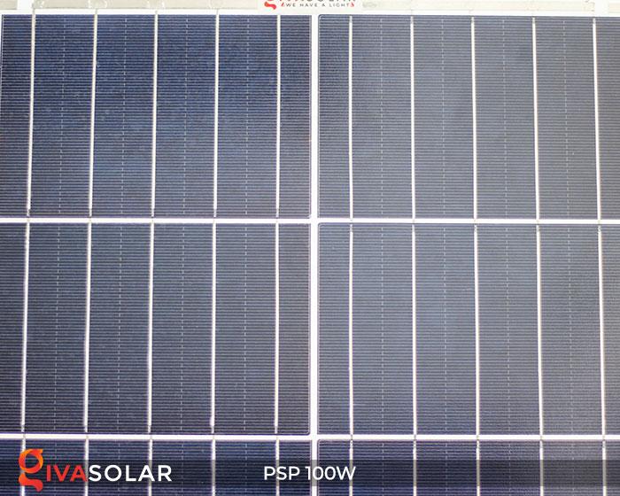 Tấm pin năng lượng mặt trời Poly 100W 4