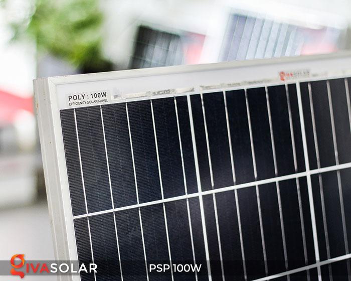 Tấm pin năng lượng mặt trời Poly 100W 5