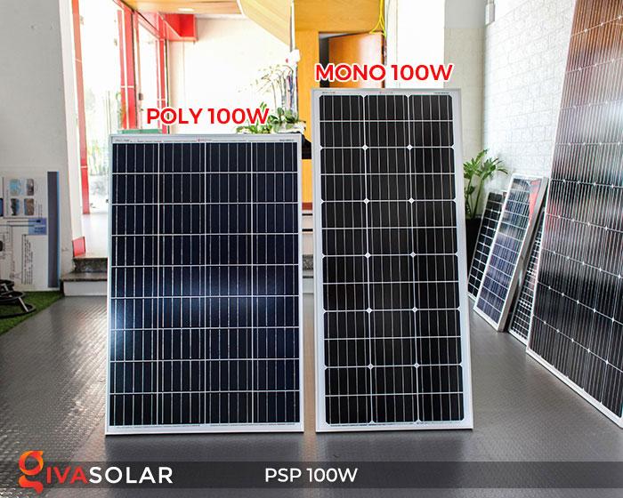 Tấm pin năng lượng mặt trời Poly 100W 7