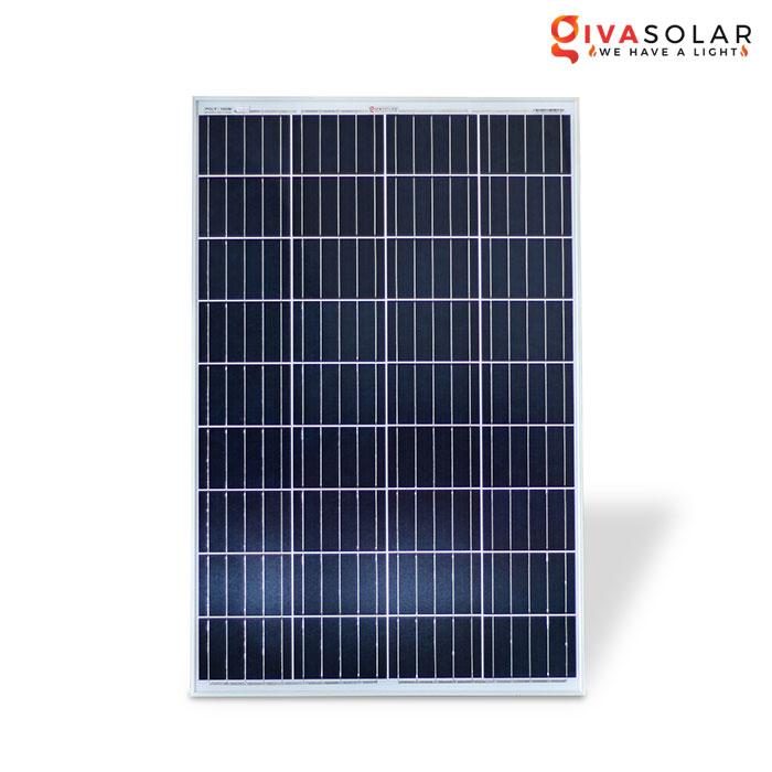 Tấm pin năng lượng mặt trời Polycrystalline 100W