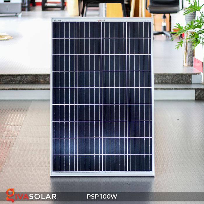 Tấm pin năng lượng mặt trời Poly 100W 1