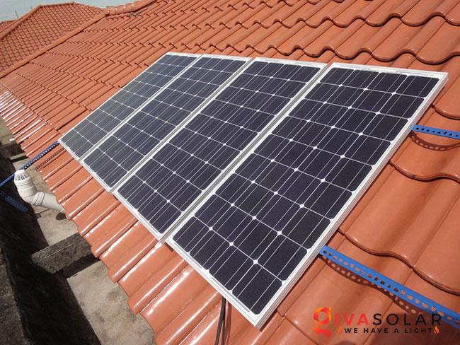 trọng lượng của tấm pin năng lượng mặt trời 2
