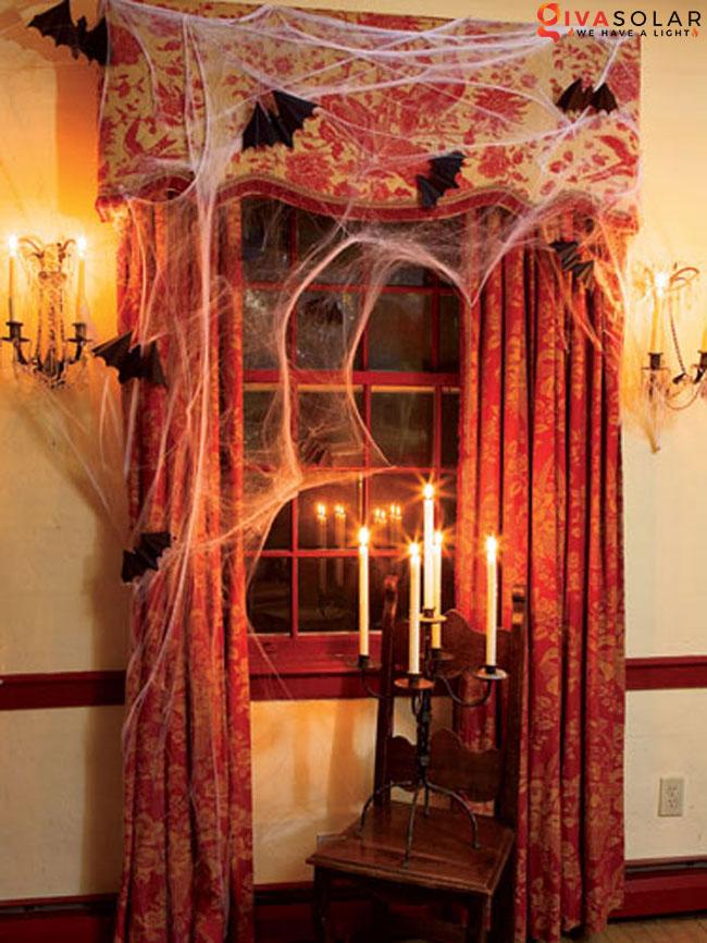 Ý tưởng trang trí cửa sổ Halloween 22