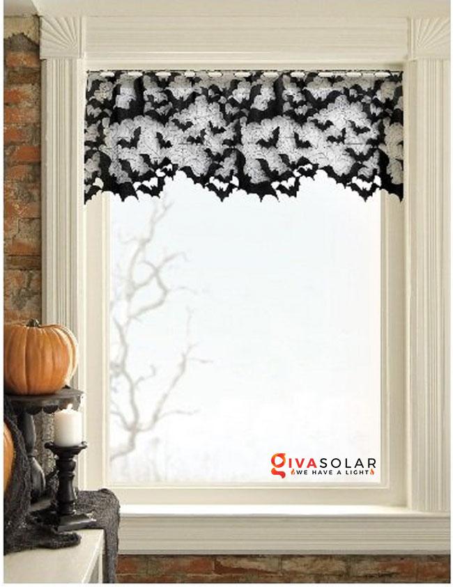 Ý tưởng trang trí cửa sổ Halloween 27