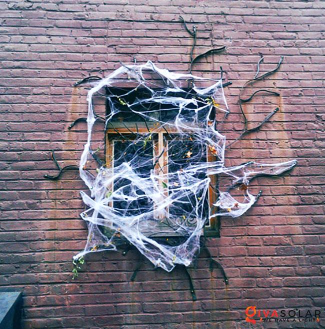 Ý tưởng trang trí cửa sổ Halloween 33