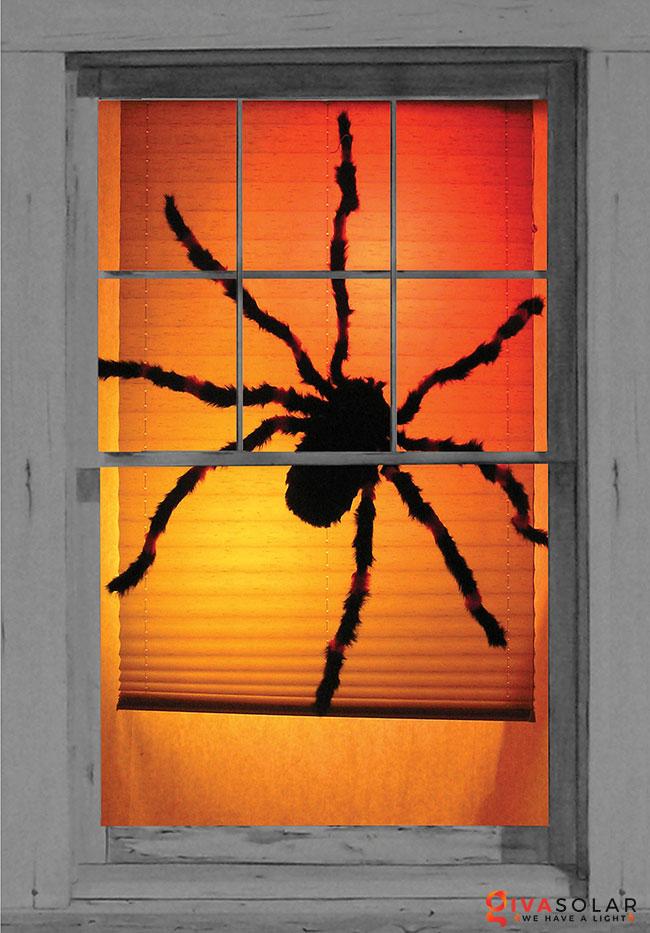 Ý tưởng trang trí cửa sổ Halloween 5