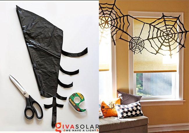 Ý tưởng trang trí cửa sổ Halloween 9