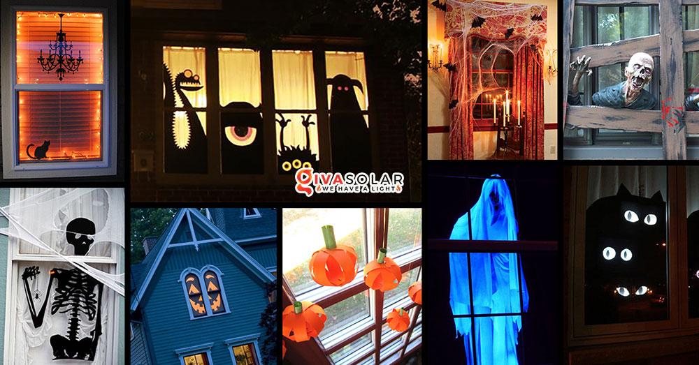 Ý tưởng trang trí cửa sổ Halloween bạn không nên bỏ lỡ