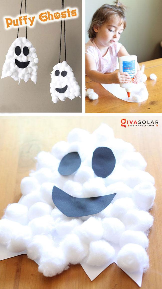 Ý tưởng trang trí Halloween đơn giãn dành cho trẻ em 1
