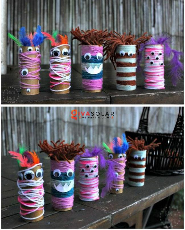 Ý tưởng trang trí Halloween đơn giãn dành cho trẻ em 11