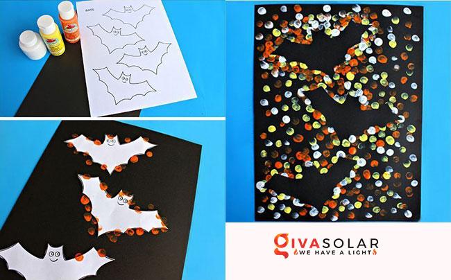 Ý tưởng trang trí Halloween đơn giãn dành cho trẻ em 13