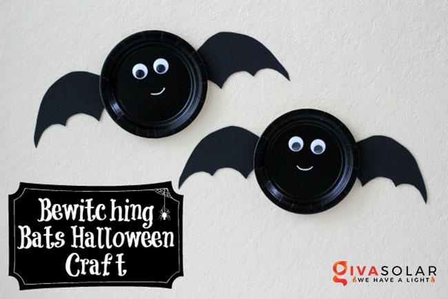 Ý tưởng trang trí Halloween đơn giãn dành cho trẻ em 17