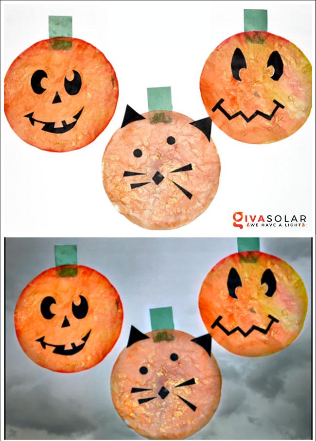Ý tưởng trang trí Halloween đơn giãn dành cho trẻ em 18