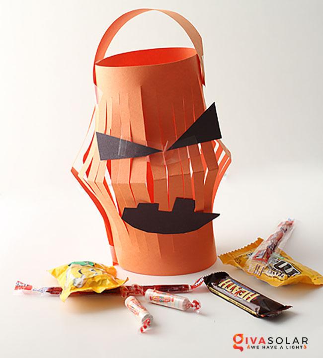 Ý tưởng trang trí Halloween đơn giãn dành cho trẻ em 19
